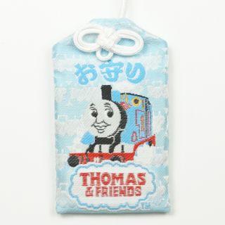62号トーマスの御守(トーマス) 白/ブルー