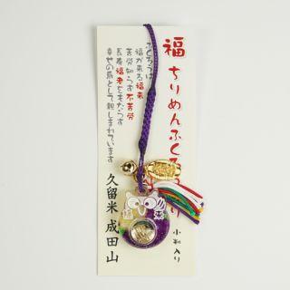 アクリルレンズ 福ふくろう縮緬 紫